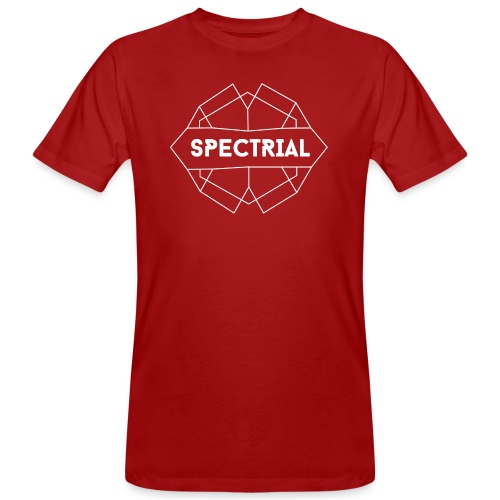 Spectrial Logo - Mannen Bio-T-shirt