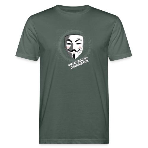 Anonymous Love Your Rage - Men's Organic T-Shirt