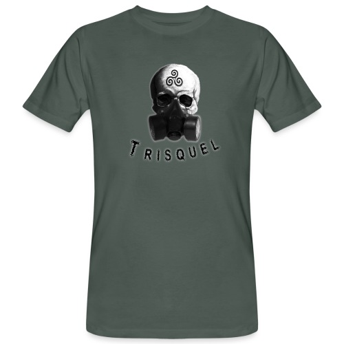 Trisquel Negro - Camiseta ecológica hombre