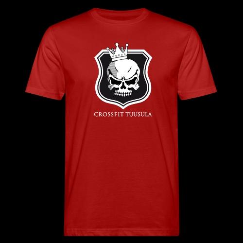 CrossFit Tuusula BW - Miesten luonnonmukainen t-paita