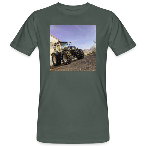 new holland t6080 - Männer Bio-T-Shirt