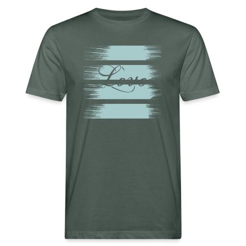 liebe - Männer Bio-T-Shirt