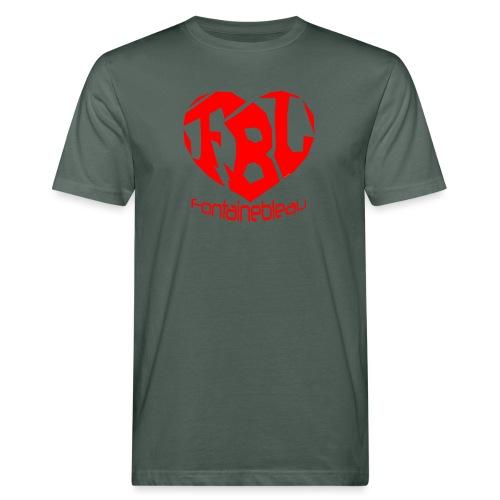 Coeur de Fontainebleau - T-shirt bio Homme