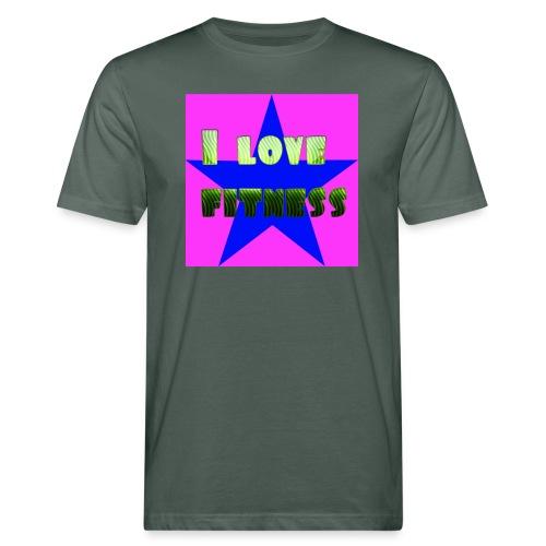 I love fitness 2 - Camiseta ecológica hombre