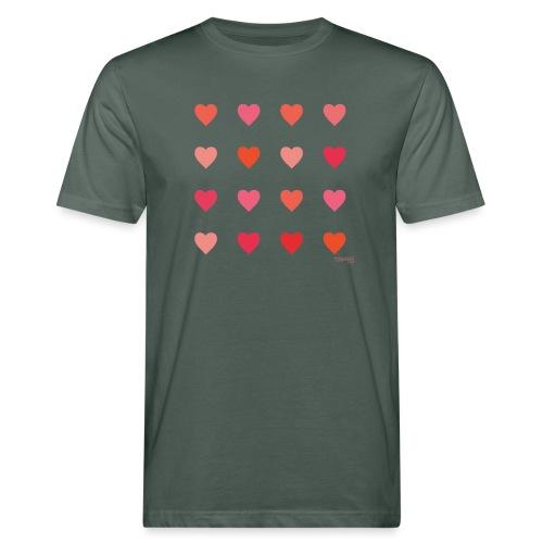 Love - Miesten luonnonmukainen t-paita