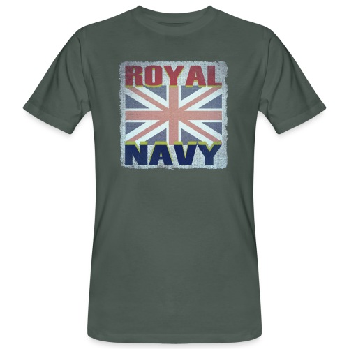 ROYAL NAVY - Men's Organic T-Shirt