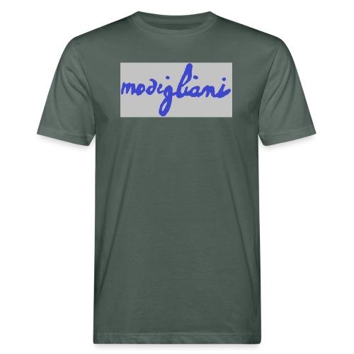 firm_blue - T-shirt ecologica da uomo
