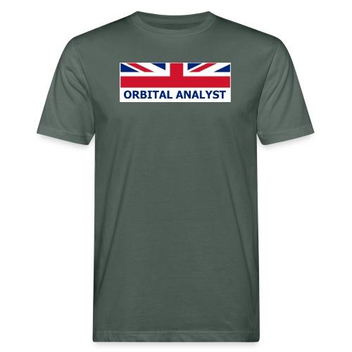 UK Orbital Analyst - Men's Organic T-Shirt