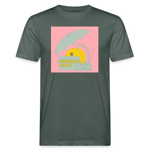 Hisingens playa pink - Ekologisk T-shirt herr