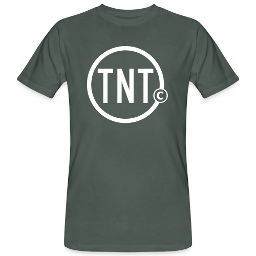 TNT-circle - Mannen Bio-T-shirt