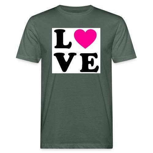 Love t-shirt - T-shirt bio Homme
