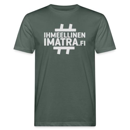 Ihmeellinen Imatra miesten pitkähihainen paita - Miesten luonnonmukainen t-paita