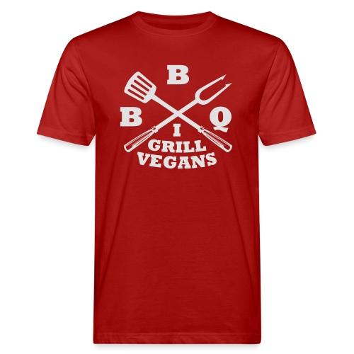 Je barbecue végétaliens grill (BBQ) - T-shirt bio Homme