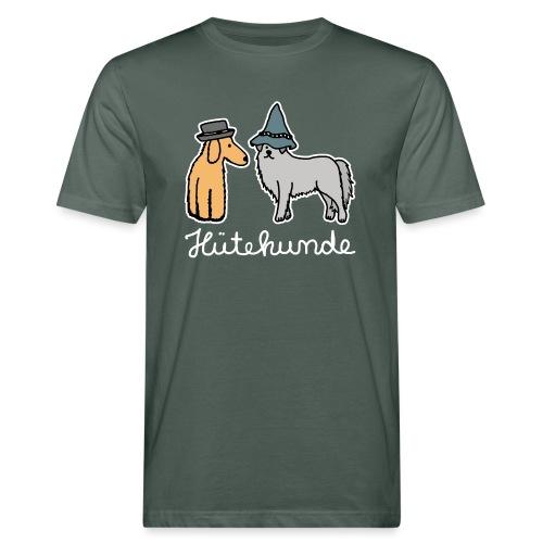 Hütehunde Hunde mit Hut Huetehund - Männer Bio-T-Shirt