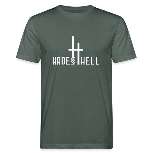 Hadeshell-white - Männer Bio-T-Shirt