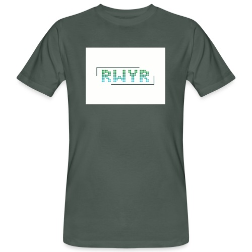 RWYR Borst White - Mannen Bio-T-shirt