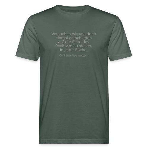 Morgenstern - Männer Bio-T-Shirt