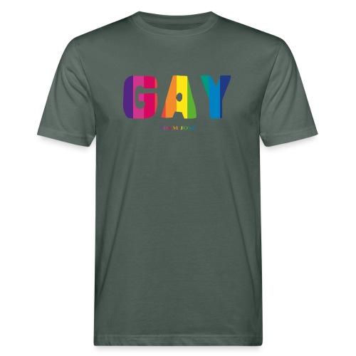 ADAM is GAY - T-shirt ecologica da uomo