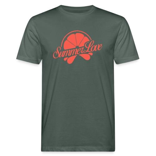 Logo Summer Love 00 - Mannen Bio-T-shirt