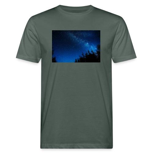sterrenhemel afdruk/print - Mannen Bio-T-shirt