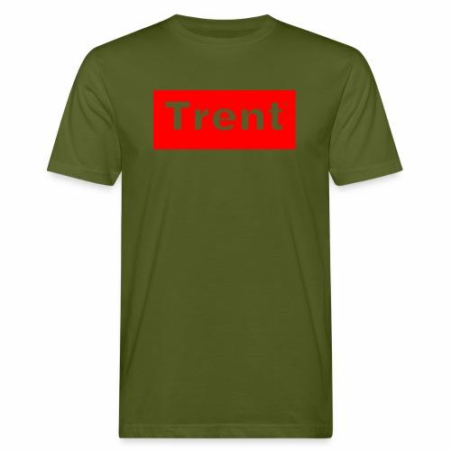 TRENT classic red block - Men's Organic T-Shirt