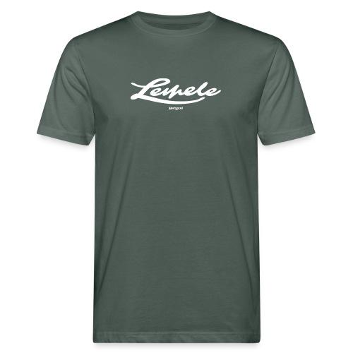 Batzer Lemele script - Mannen Bio-T-shirt