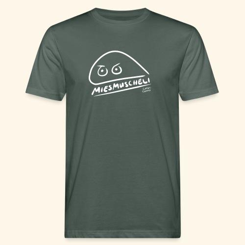 Miesmuscheli Kontrast - Männer Bio-T-Shirt