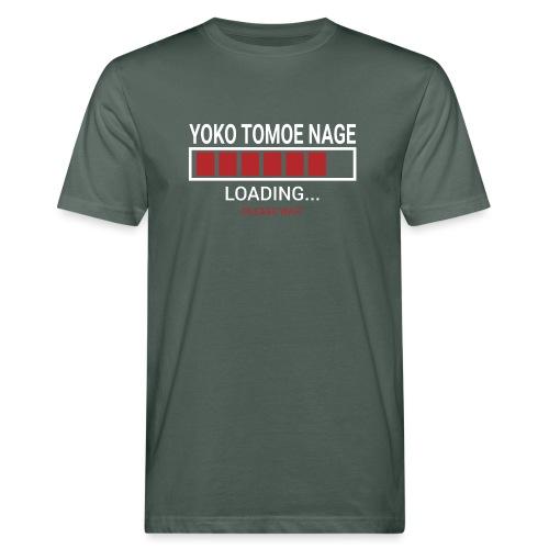 Yoko Tomoe Nage loading... pleas wait - Ekologiczna koszulka męska