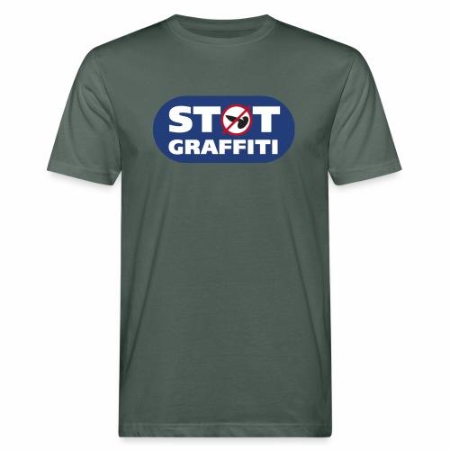 støt graffiti - blk logo - Organic mænd