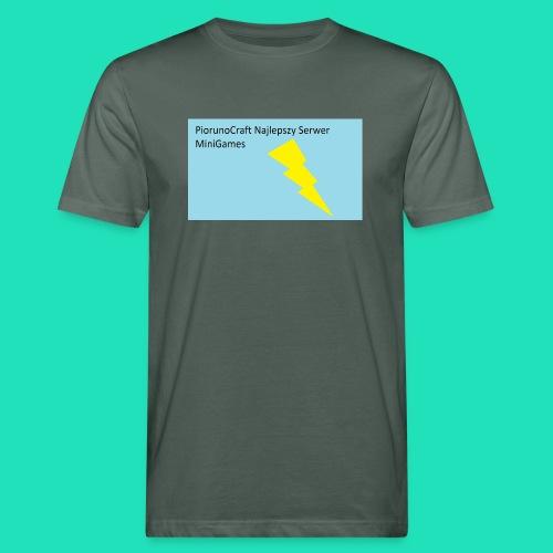 Koszulka Dla Dzieci PiorunoCraft - Ekologiczna koszulka męska