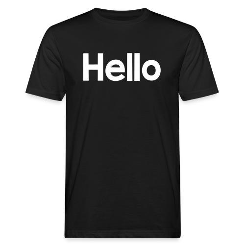 Hello#2 - Männer Bio-T-Shirt
