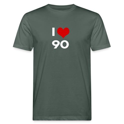 I love 90 - T-shirt ecologica da uomo