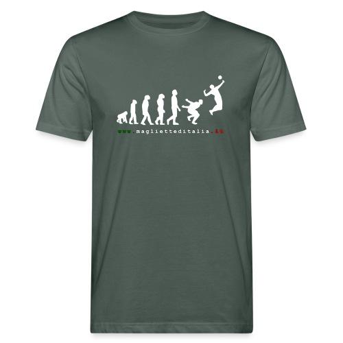 evolution volley attack w new - T-shirt ecologica da uomo