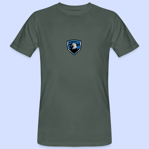 HypeCw logo (Silver) - Men's Organic T-Shirt