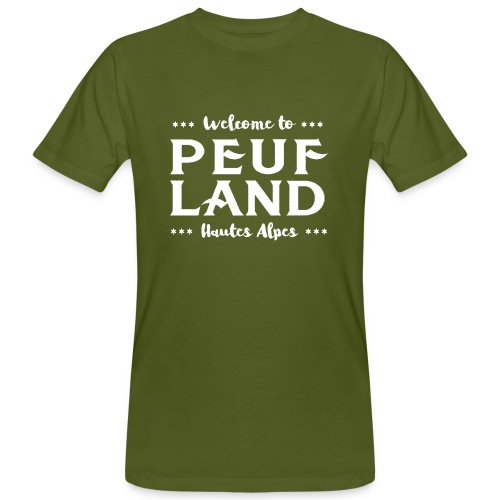 Peuf Land 05 - Hautes-Alpes - White - T-shirt bio Homme