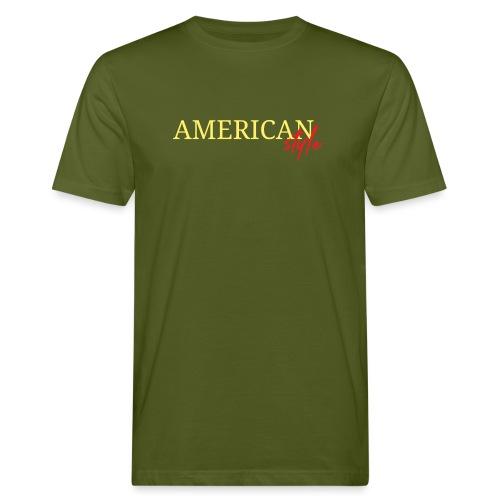 American Style - Camiseta ecológica hombre