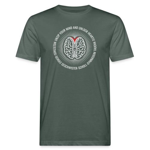 UNZIP YOUR MIND (light) - Männer Bio-T-Shirt