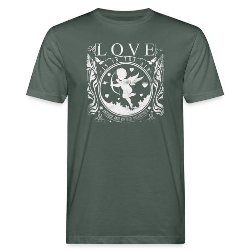 Love is in the air - Männer Bio-T-Shirt