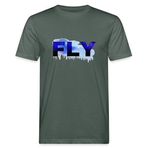 Paint Fly Design - Men's Organic T-Shirt