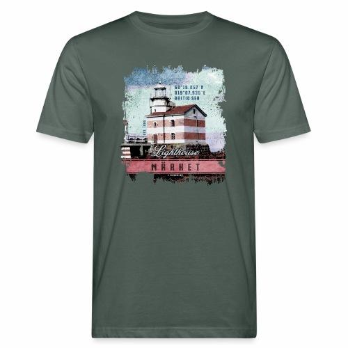 Märket majakkatuotteet, Finland Lighthouse, väri - Miesten luonnonmukainen t-paita