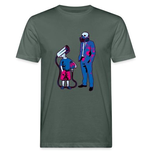 Littele Brother Big Brother - Mannen Bio-T-shirt