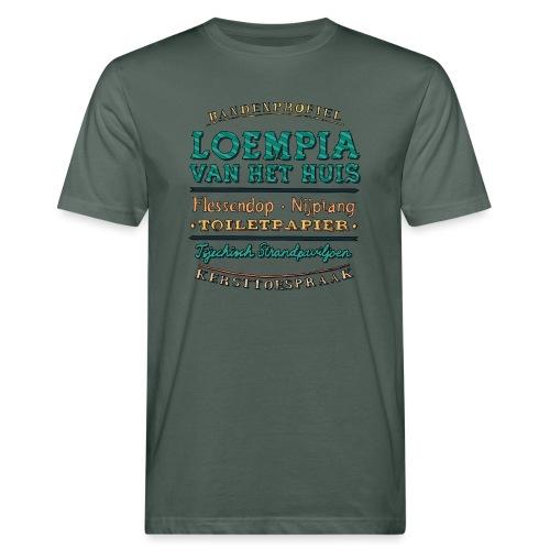 Bandenprofiel - Mannen Bio-T-shirt