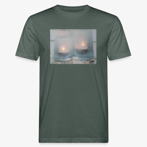 Selectie kaarslicht - Mannen Bio-T-shirt