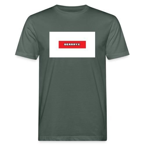 box logo - Økologisk T-skjorte for menn