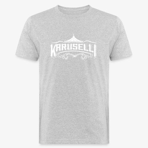 Karuselli - Miesten luonnonmukainen t-paita