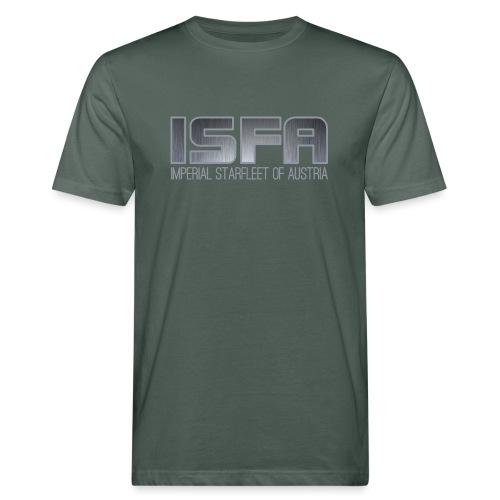 ISFA Logo Abzeichen3 - Männer Bio-T-Shirt