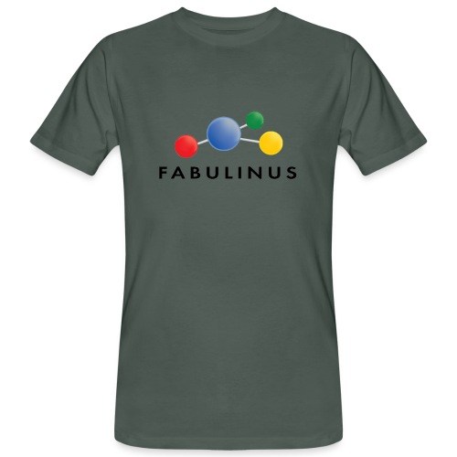 Fabulinus logo enkelzijdig - Mannen Bio-T-shirt
