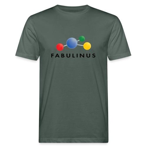 Fabulinus Zwart - Mannen Bio-T-shirt