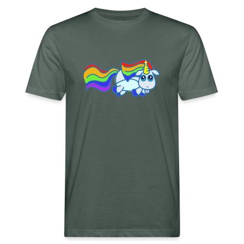Nyan unicorn - T-shirt ecologica da uomo