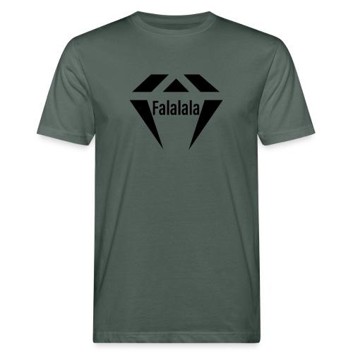 J.O.B Diamant Falalala - Männer Bio-T-Shirt